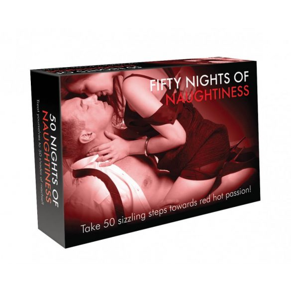 FIFTY NIGHTS OF NAUGHTINESS - erotická společenská hra (v angličtině)