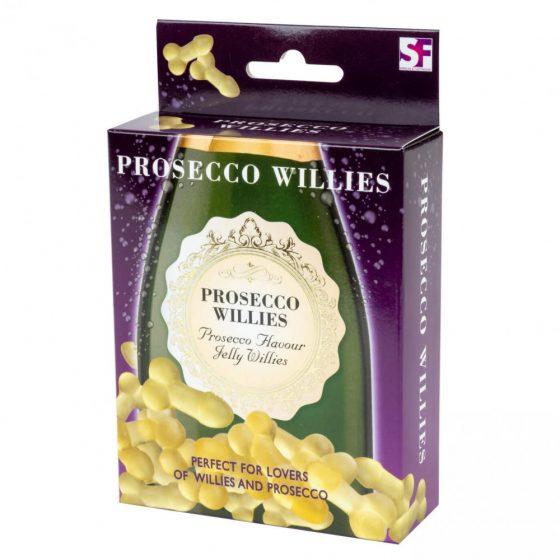 Prosecco Willies - gumové bonbóny ve tvaru penisu (120g)