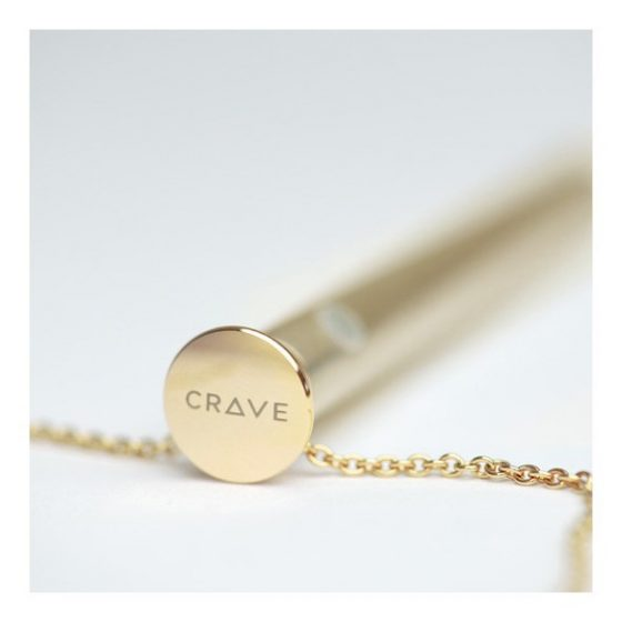 Vesper - luxusní vibrační náhrdelník (zlato)