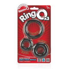 Screaming O - sada silikonových kroužků na penis (3ks)