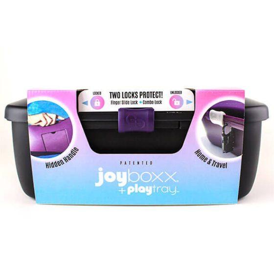 JOYBOXXX – hygienický kufřík na pomůcky (čierny)