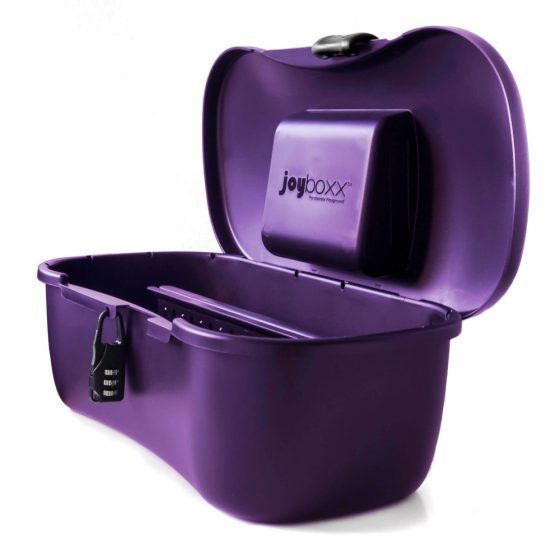 JOYBOXXX - hygienický skladovací box (černý)