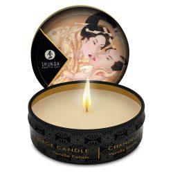 Shunga Massage Candle Vanilla - masážní svíčka (vanilka)