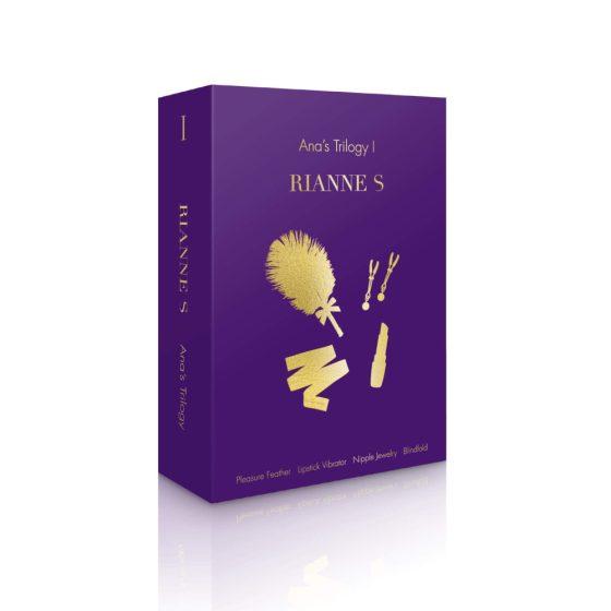 Rianne S Ana's Trilogy I - sada erotických pomůcek (4 dílná)