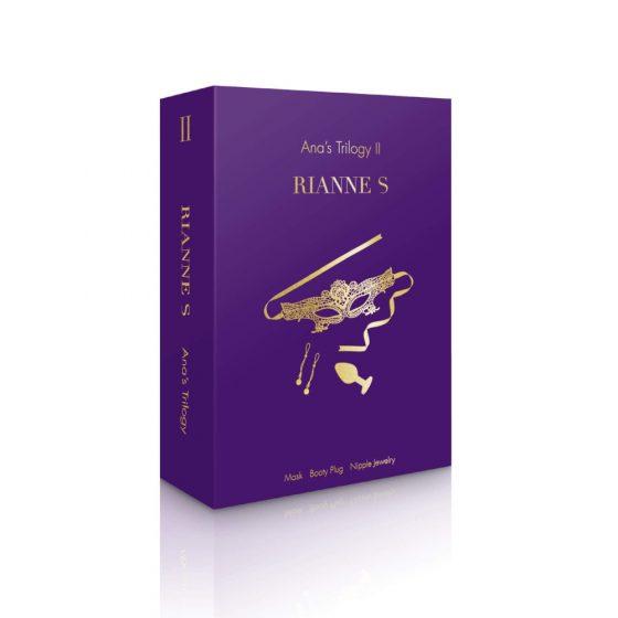 Rianne S Ana's Trilogy II - sada smyslné erotiky (3 dílná)