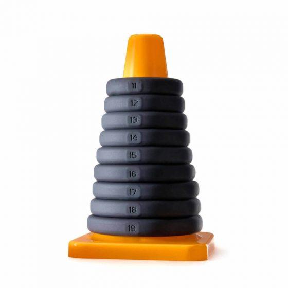 Play Zone hračka na penis - sada kroužků a natahovačů na penis a varlata (9 dílná)