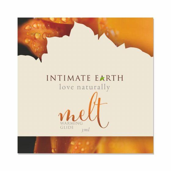 Intimate Earth Melt - hřejivý lubrikant (3ml)
