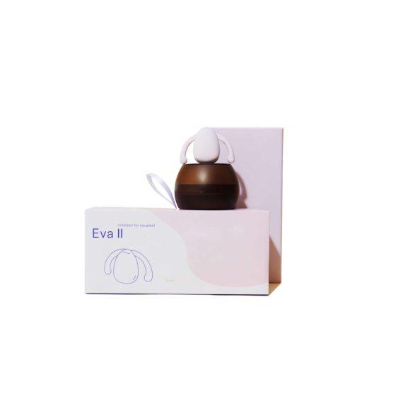 DAME EVA II. Hands Free - vodotěsný vibrátor na klitoris (světle růžový)