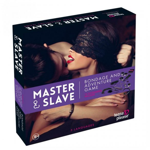 Master & Slave Bondage Game Purple (NL-EN-DE-FR-ES-IT-SE-NO-PL-RU)