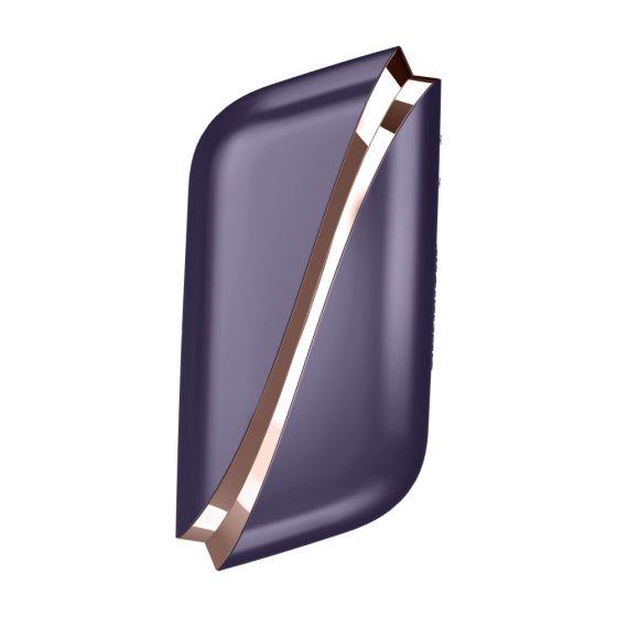 Satisfyer Traveler - nabíjecí cestovní stimulátor na klitoris (černo-bílý)