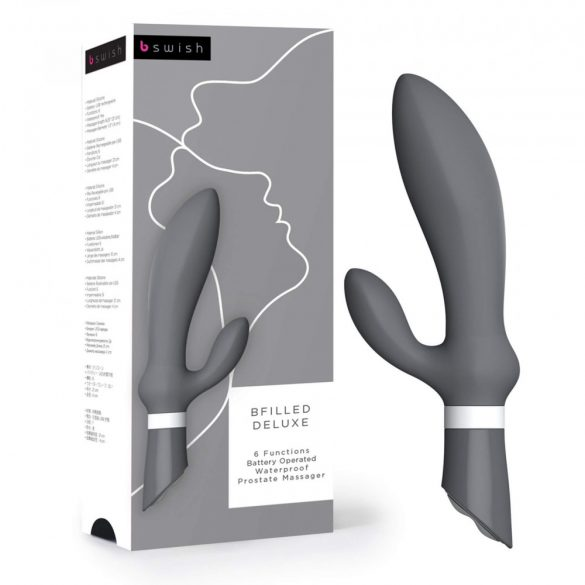 B SWISH - BFILLED PROSTATE MASSAGER SLATE