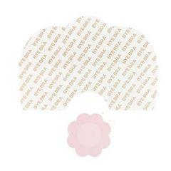 Bye Bra - Breast Lift & Silk Nipple Covers D-F Nude 3 Pairs