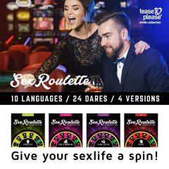 Sex Roulette Love & Married - erotická společenská hra (10 jazyků)