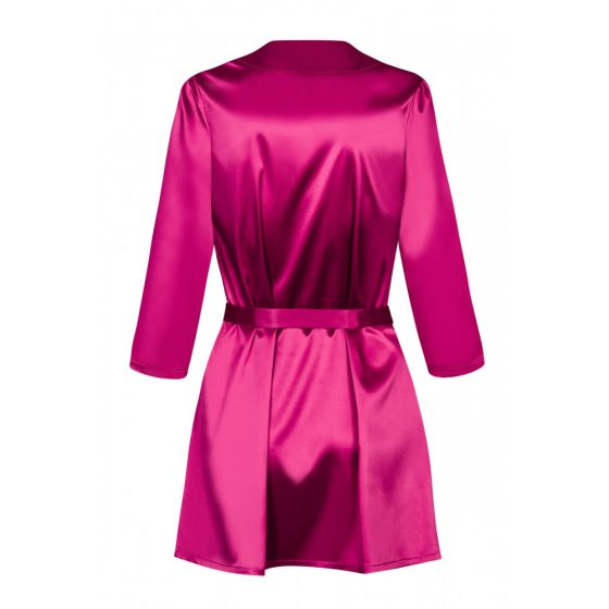 Obsessive - Satinia Robe Pink S/M