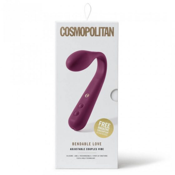 COSMOPOLITAN - BENDABLE LOVE VIBRATOR PURPLE