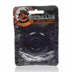 OXBALLS Donut 2 - extra silný kroužek na penis (černý)