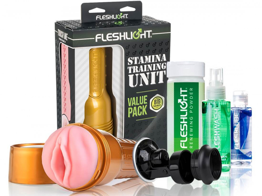 Fleshlight - The Stamina Training Uni set (5 dílný)