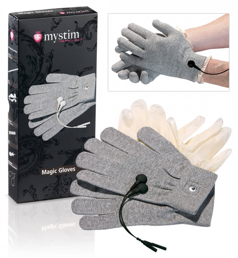 mystim Magic Gloves - elektro rukavice (1pár)