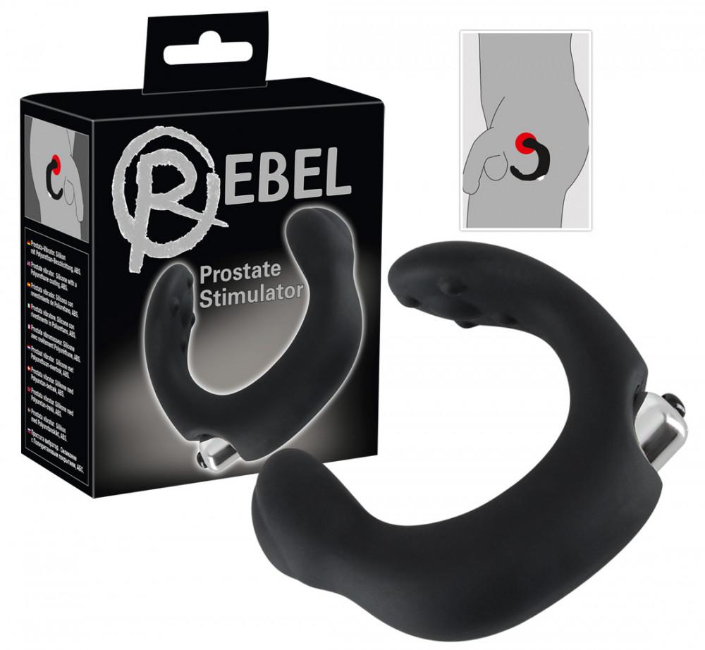 Rebel - Ivel prostata vibrátor (černý)