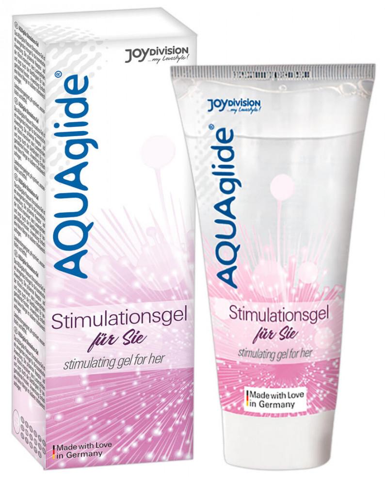 JoyDivision AquaAglide Stimulation gel - intimní gel pro ženy (25ml)