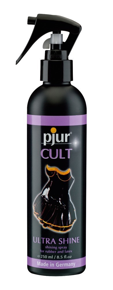 Pjur Cult Ultra Shine - ošetřující spray na latex (250ml)