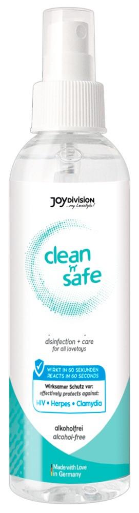 Clean Safe - Joydivision čistící prostředek na erotické pomůcky (100ml)
