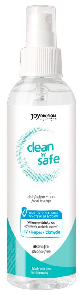 Clean Safe - Joydivision čistící prostředek na erotické pomůcky (200ml)