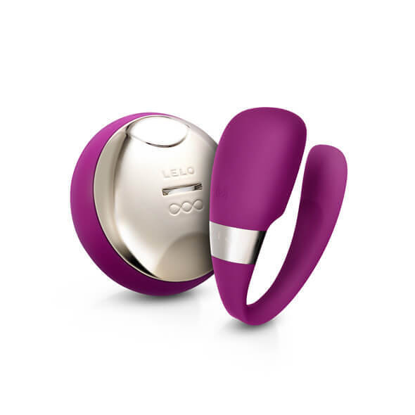 LELO Tiani 3dílný párový vibrátor (fialový)