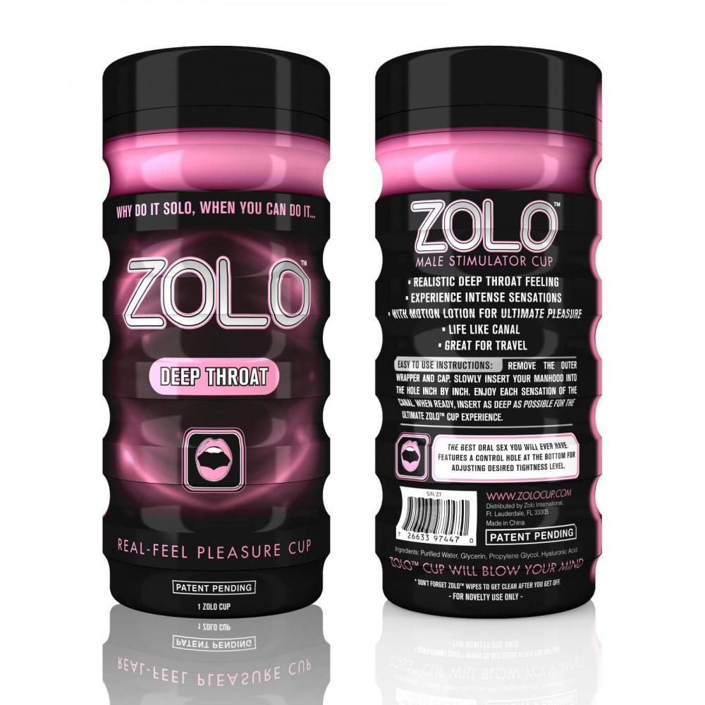 ZOLO Deep Throat - masturbátor