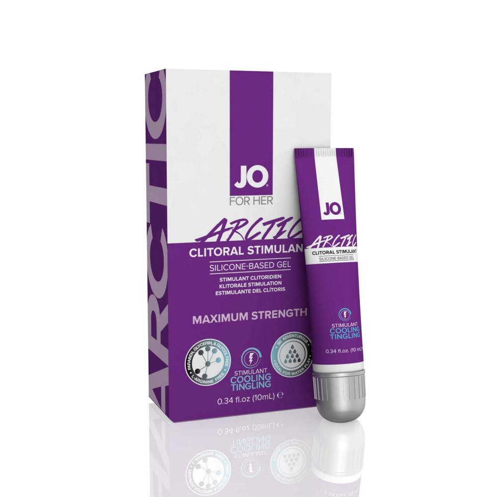 System JO Clitoral Stimulant Cooling Arctic - stimulační gel pro ženy (10ml)