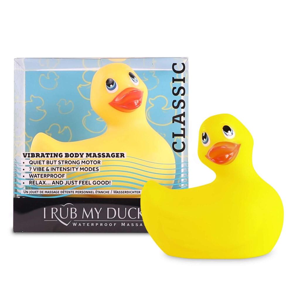 My Duckie Classic 2.0 - vibrátor na klitoris - hravá vodotěsná kačenka (žlutá)